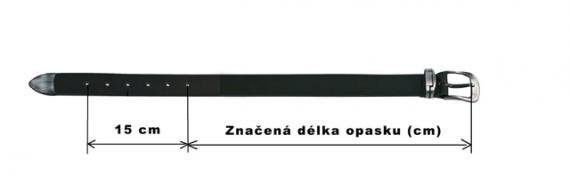 délka opasku