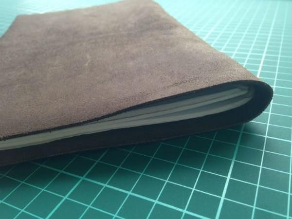 kožený zápisník